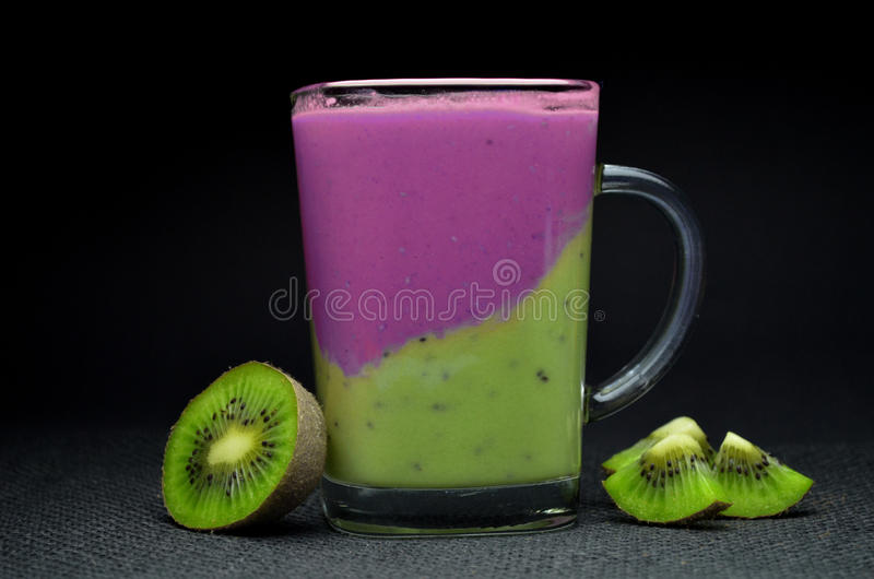 Vers Fruit Smoothie royalty-vrije stock foto's