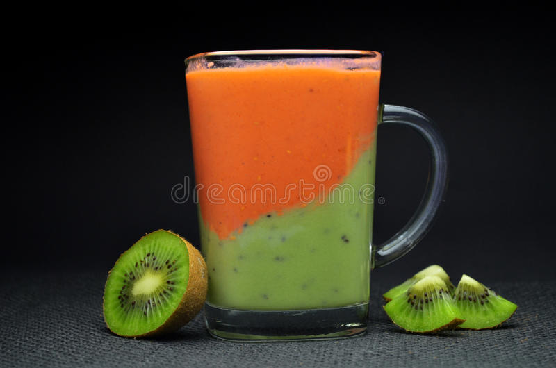 Vers Fruit Smoothie royalty-vrije stock foto