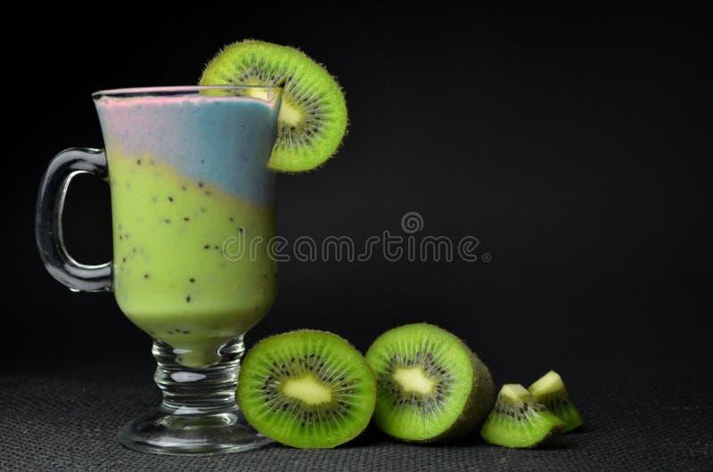 Vers Fruit Smoothie stock foto