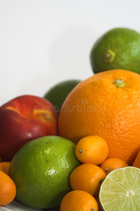 Vers fruitmengeling royalty-vrije stock foto