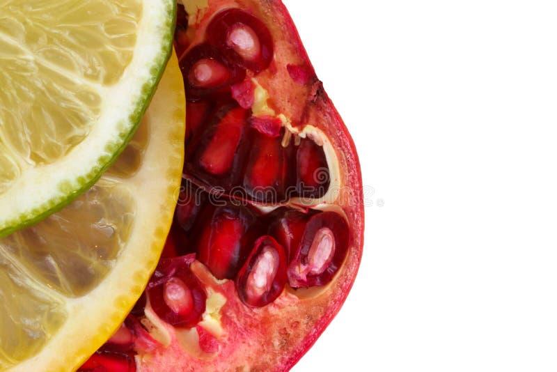 Vers geïsoleerd fruit royalty-vrije stock afbeelding