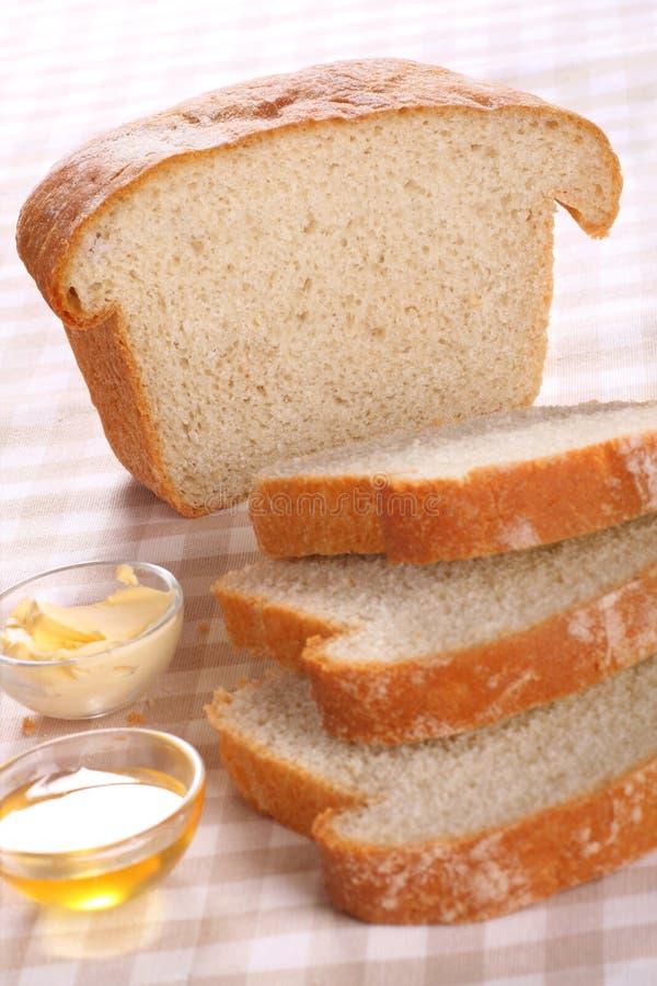 Vers gebakken brood royalty-vrije stock afbeeldingen