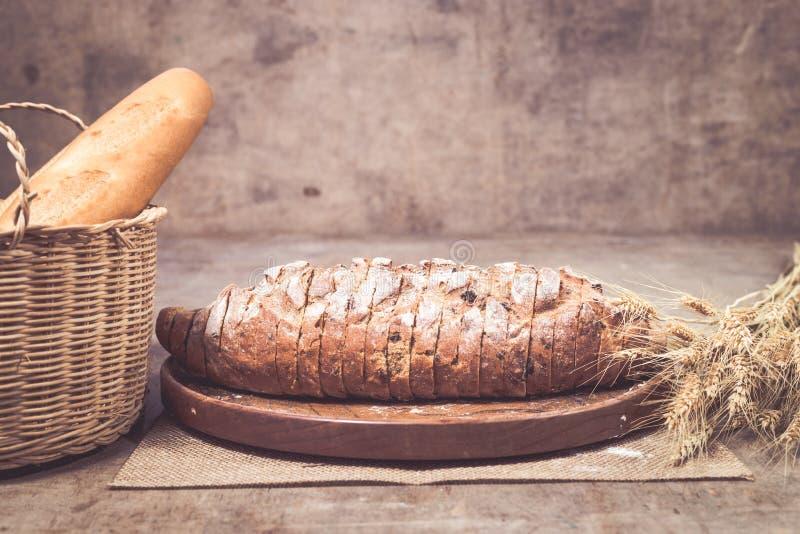 Vers gebakken brood royalty-vrije stock foto