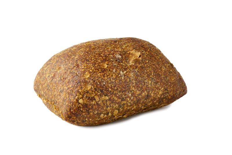 Vers gebakken broodbroodje op witte achtergrond royalty-vrije stock afbeelding