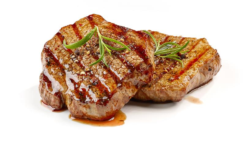 Vers geroosterd lapje vlees royalty-vrije stock foto's