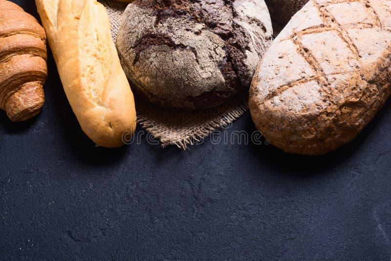 Vers geurig brood stock fotografie
