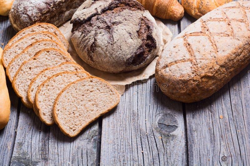 Vers geurig brood royalty-vrije stock afbeelding