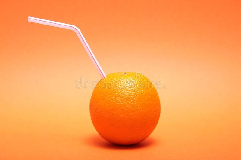 Vers jus d'orange. stock foto