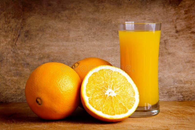 Vers jus d'orange royalty-vrije stock foto