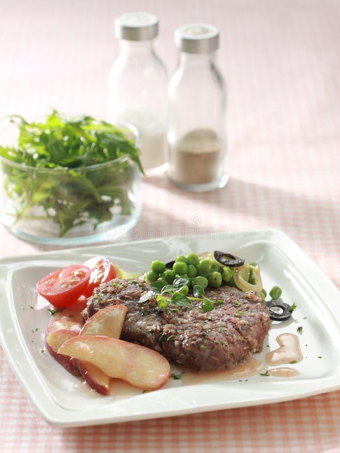 Vers lapje vlees royalty-vrije stock foto