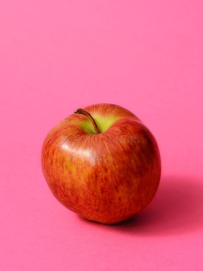 Vers Rood Apple royalty-vrije stock afbeeldingen