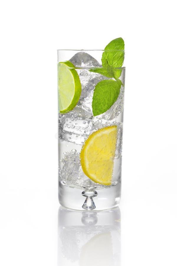 Vers sodawater royalty-vrije stock fotografie