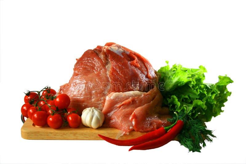 Vers vlees stock fotografie