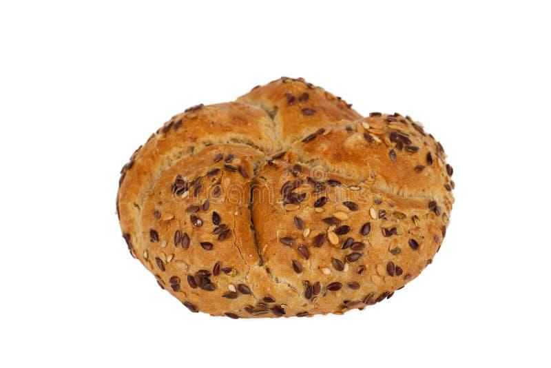 Vers volkorenbroodjesbrood stock foto