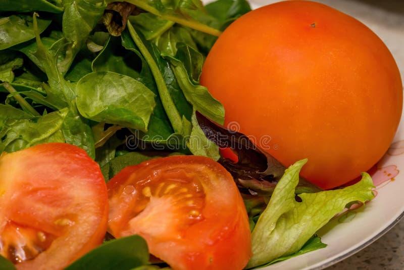 Vers Voorbereide Salade royalty-vrije stock foto