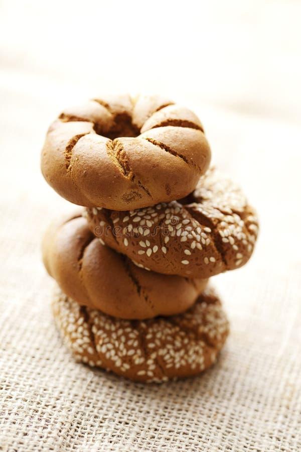 Vers wholegrain brood stock afbeelding