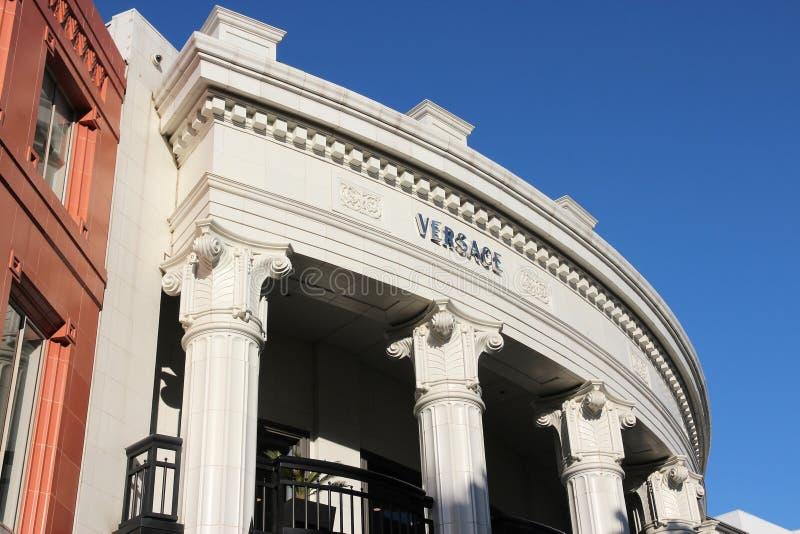 Versace Beverly Hills royaltyfria foton