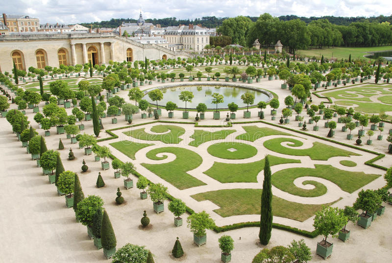 Versailles fotografia stock libera da diritti