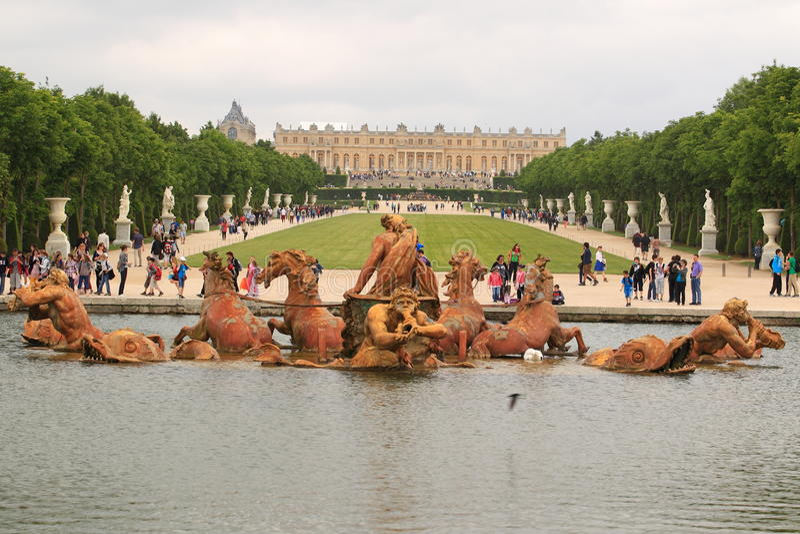 Versailles photo libre de droits
