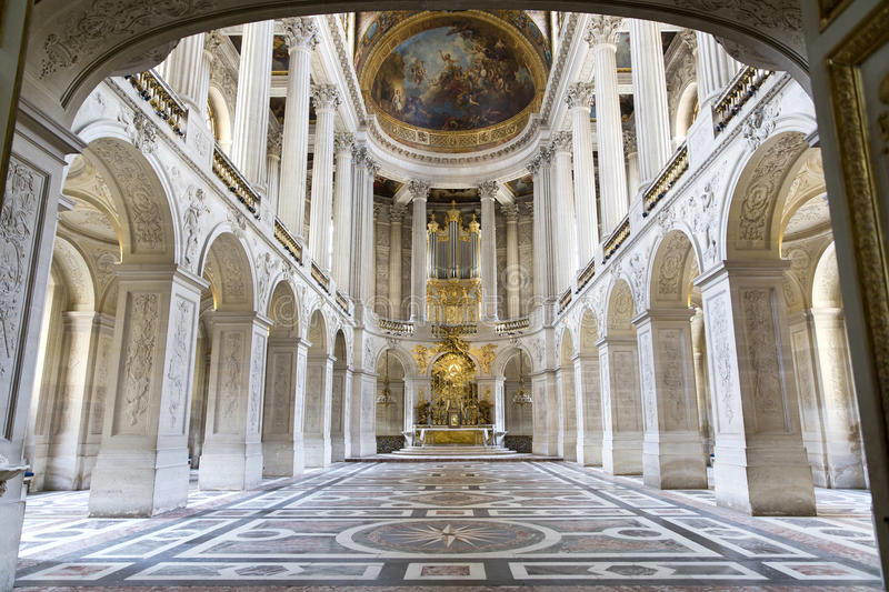 Versailles Castle, Paris, France royalty free stock photo