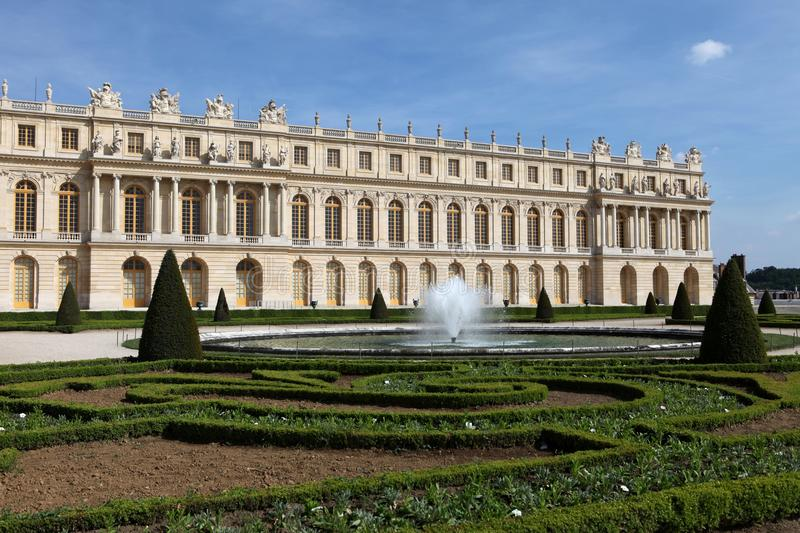 The Versailles Chateau stock photo