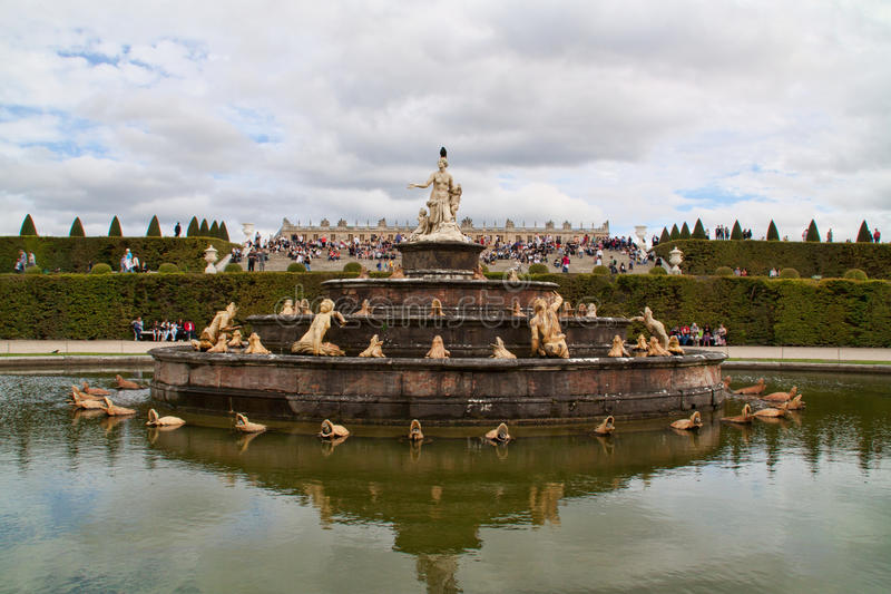 Download Versailles-the fountain stock photo. Image of versailles - 20833610