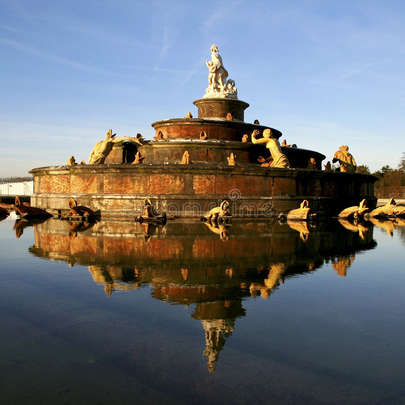 Download Versailles fountain stock photo. Image of history, french - 7655046