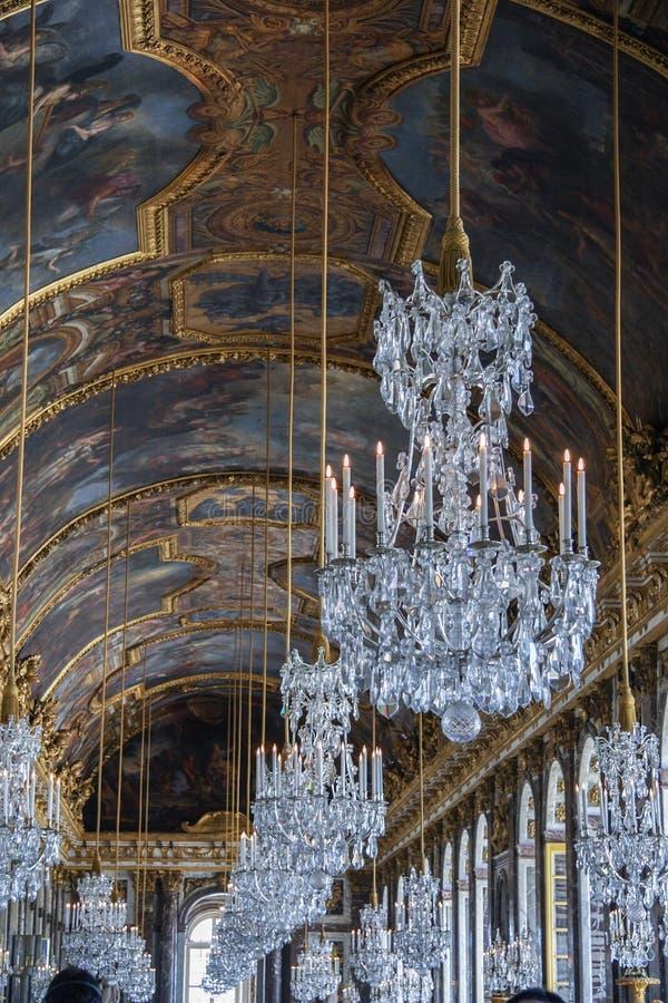 05 05 2008, Versailles, France Intérieur du palais de Versailles Visite touristique de la France photo stock
