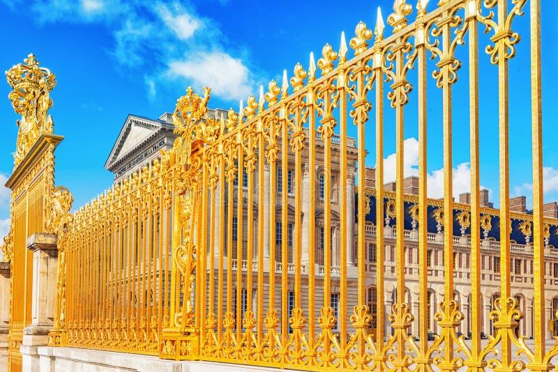 VERSAILLES, FRANCIA - 2 LUGLIO 2016: Golden Gate di Chateau de V immagini stock libere da diritti