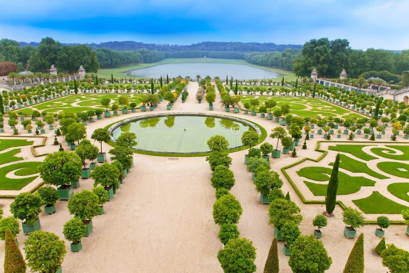 Versailles, Francia. Sosta immagine stock libera da diritti