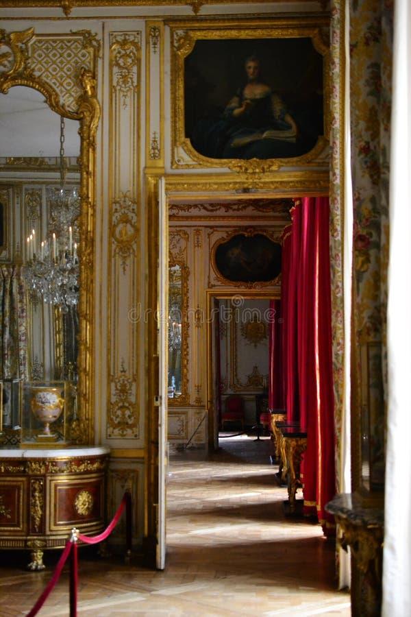 Versailles, Francja: Ogródy Versailles pałac blisko Paryż, Francja obraz stock