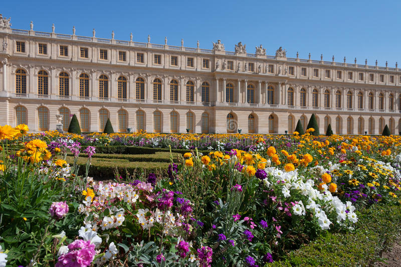 Download Versailles gardens editorial stock image. Image of flower - 34606904