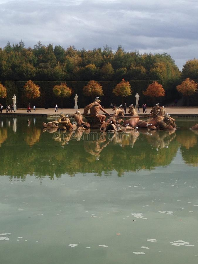 Versailles stock image
