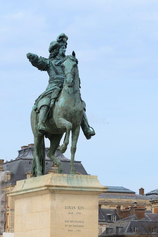 Versailles i Frankrike royaltyfria foton