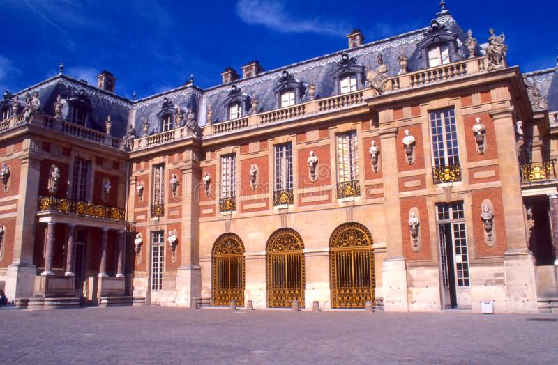 Versailles Palace. Color photograph of the Palace of Versailles in France royalty free stock photography