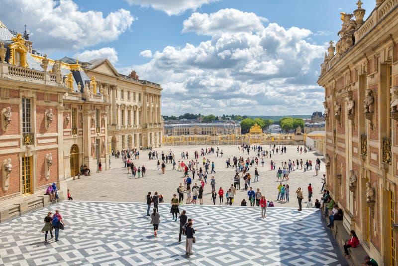 Versailles-Palast Berühmtes königliches Schloss in Frankreich lizenzfreie stockfotografie