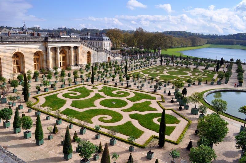 Versailles in Parijs, Frankrijk stock fotografie