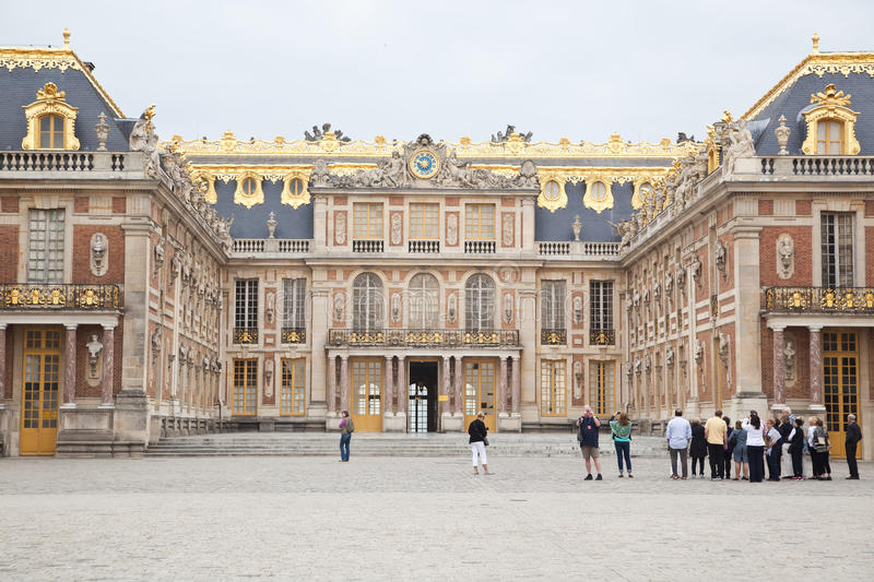 Versailles place in Paris stock photos