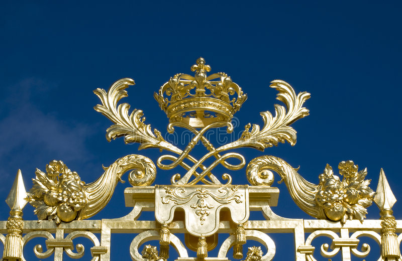 Versailles-Schloss stockbilder