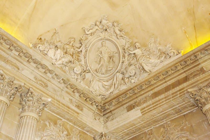 Versailles slott - Frankrike arkivbilder