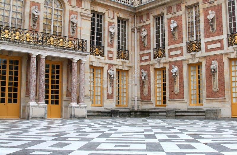 Versailles slott paris royaltyfri fotografi