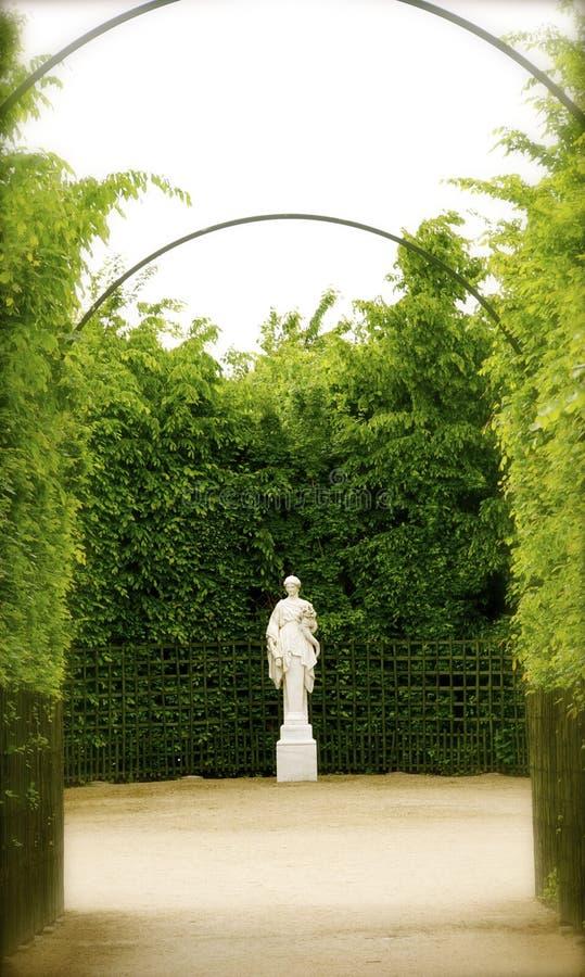 Versailles trädgård arkivfoton