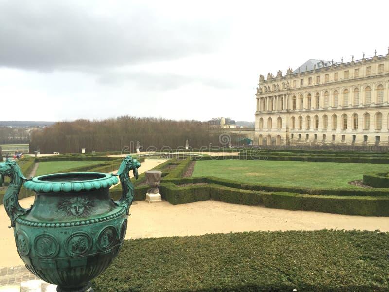Versalles庭院 免版税库存照片