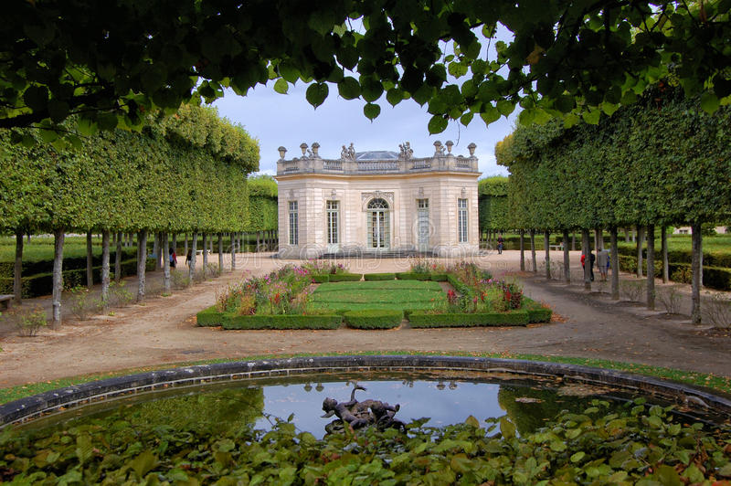 Versalles stock photo