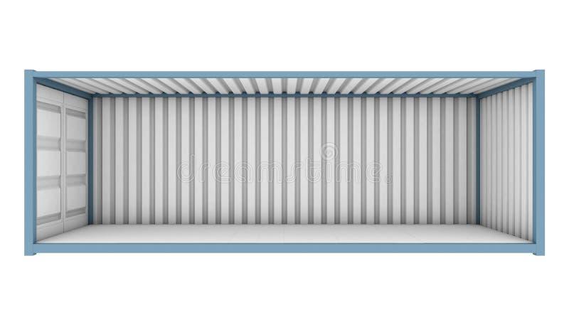 Versandverpackungs-Cutaway lizenzfreie abbildung
