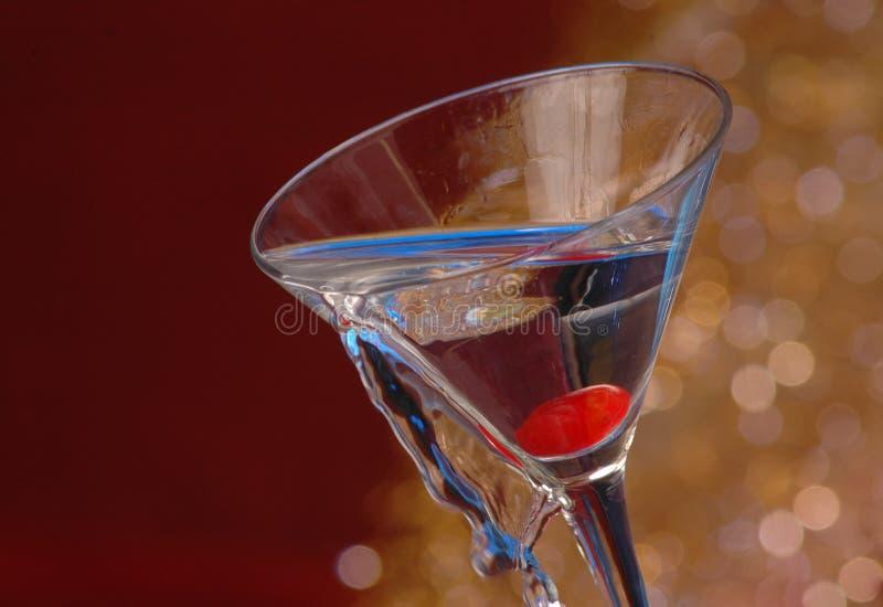 Verschütten des Cocktails lizenzfreie stockfotografie