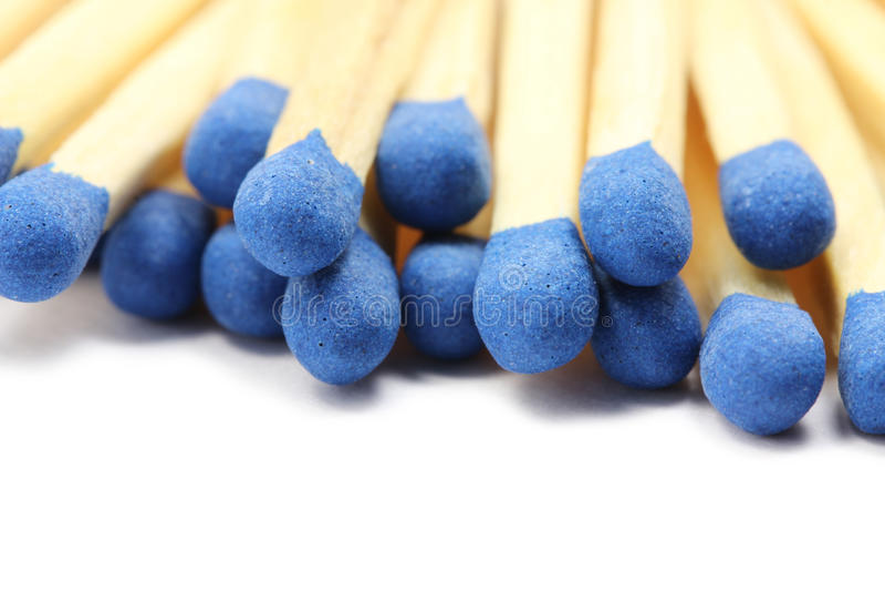 Verscheidene gelijken met blauw hoofd clseup royalty-vrije stock afbeeldingen