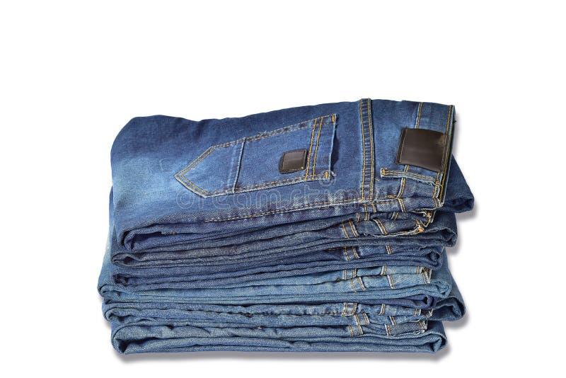 Verscheidene jeans royalty-vrije stock afbeelding