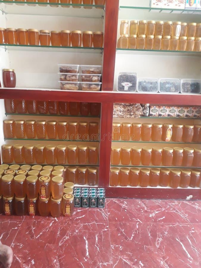 Verscheidenheid in honing royalty-vrije stock foto