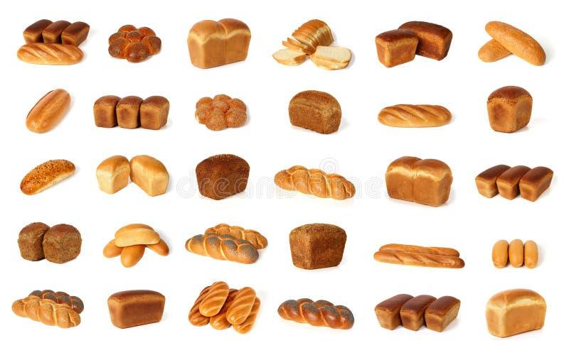Verscheidenheid van brood royalty-vrije stock foto